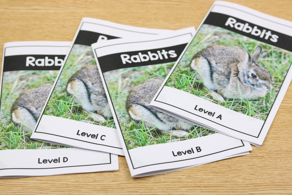 kindergarten nonfiction easy readers