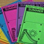 Summer Learning Mats (Summer Slide Freebie)
