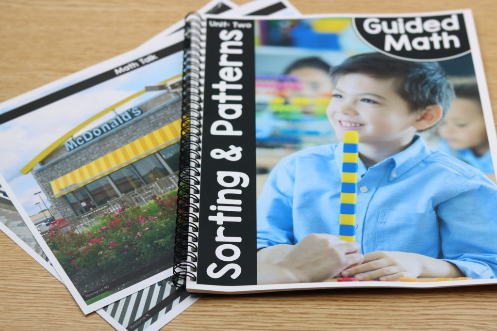 kindergarten guided math