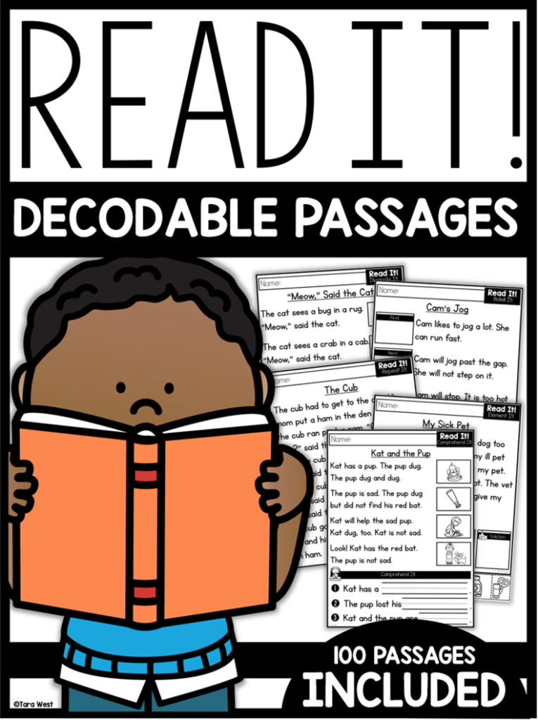 Reading Passages For Comprehension And Decoding In Kindergarten