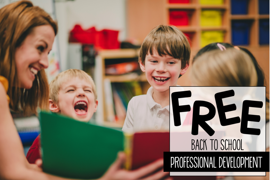 Kindergarten back to school freebies in