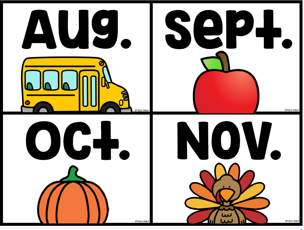 Kindergarten back to school freebies