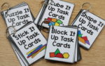 INSTANT Hands-On Task Cards |manipulatives set giveaway|