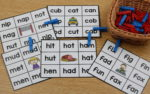 Teaching CVC Words|freebies included|