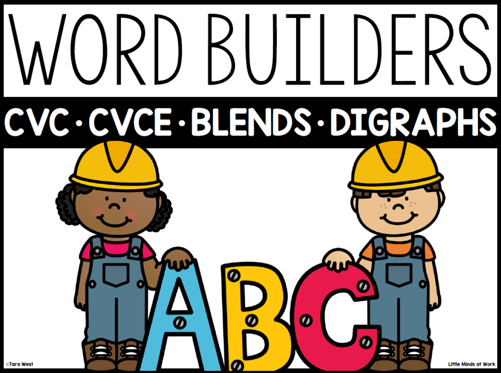 CVC words kindergarten