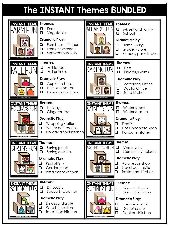 preschool themes