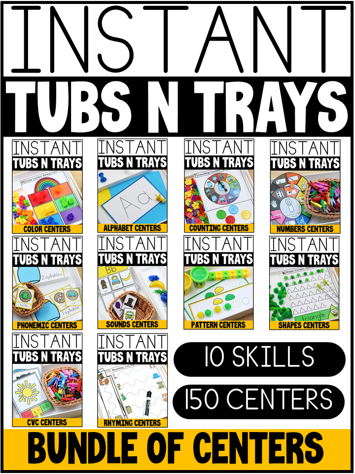 instant tubs n trays