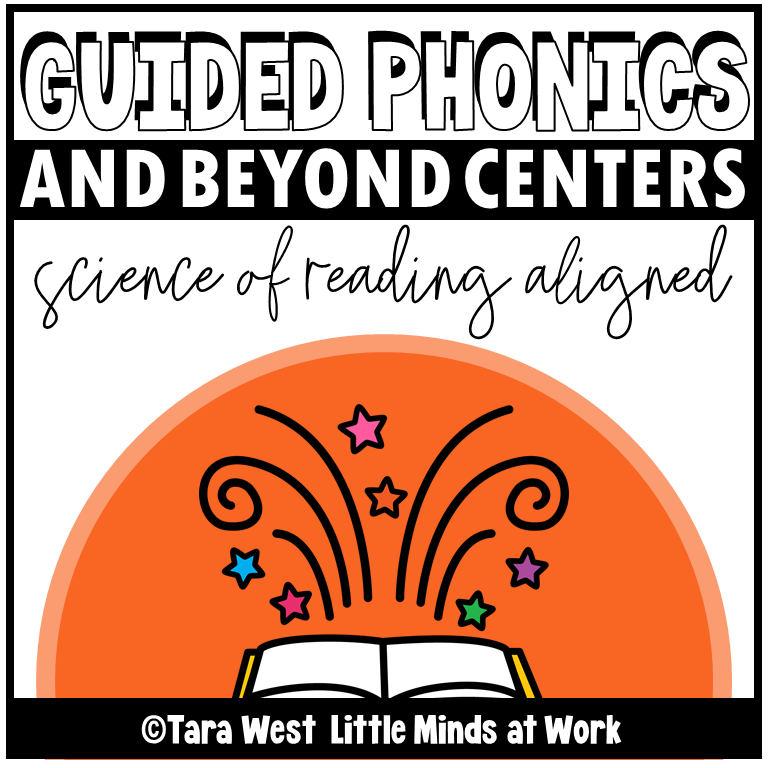 science of reading literacy centers