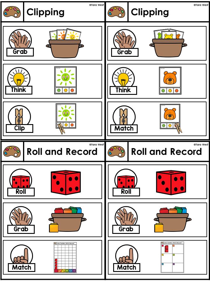 Kindergarten Centers and fine motor